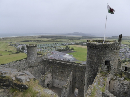 You can't visit Wales without tripping over castles. This visit we went to Harlech.