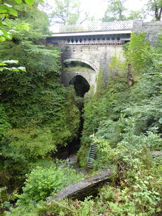 ...to Devil's Bridge Falls.