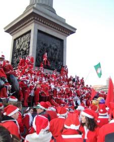 Trafalgar Santas