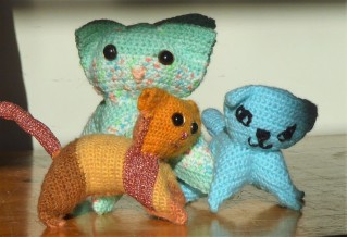 Amazing what a difference the yarn makes!