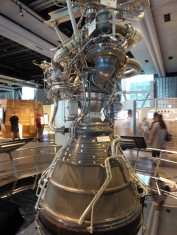 An actual, used, Japanese rocket engine.
