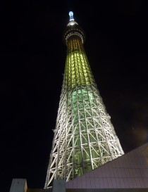 The famous Tokyo Skytree. We went to watch the firework festival from a plaza on the 4th floor.