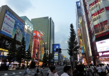 A visit to Akihabara - aka Electric Town. It's full of hardware shops and game arcades.