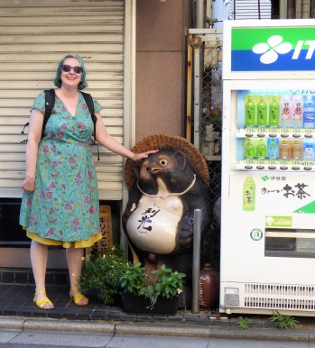 A wander around Kyoto - meeting a new friend.