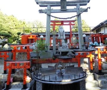 This shrine has the animal zodiac signs.