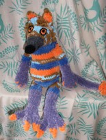 Random forest critter made in collaboration with a friend for her daughter.